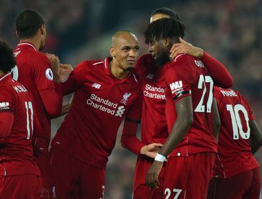 Liverpool Perkasa Taklukan Watford di Anfield
