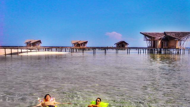 Pemandangan ala Maldives Ada di Pulo Cinta