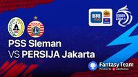 Big Match  PSS Sleman vs Persija Jakarta 5 September 2021
