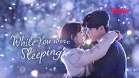 Serial drama Korea While You Were Sleeping. (Sumber: Vidio)