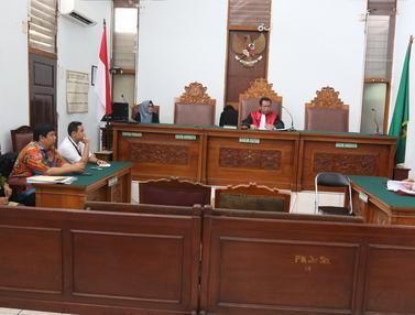 Sidang Praperadilan Mantan Dirut Perum Jasa Tirta II Djoko Saputro