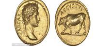 Koin emas kuno dari Romaawi. (Daily Mail)