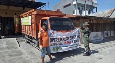 Operasi pasar LPG 3 Kg di Palu, Sigi, dan Donggala