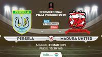 Piala Presiden: Persela Lamongan vs Madura United. (Bola.com/Dody Iryawan)