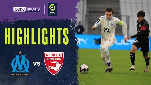 Berita video highlights Liga Prancis, Marseille dikalahkan Nimes dengan skor 1-2,Sabtu malam (16/1/21)