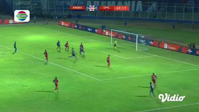 Laga lanjutan #ShopeeLiga1, mempertemukan #Arema FC vs #Semen Padang pada hari Senin malam (28/10/2019) berakhir dengan skor 1-0.