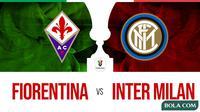Coppa Italia: Fiorentina Vs Inter Milan. (Bola.com/Dody Iryawan)