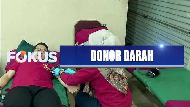 Dalam rangka hari ulang tahun ke-29 SCTV, YPP SCTV-Indosiar menggelar donor darah di Mangga Dua Square.