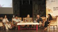 Garin Workshop dalam program Ruang Kreatif: Seni Pertunjukan Indonesia