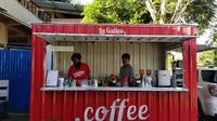 Di tengah penerapan PSBB di Kota Tarakan, banyak kedai kopi yang tetap buka agar bisa menggaji karyawan. (foto: Siti Hardiani)