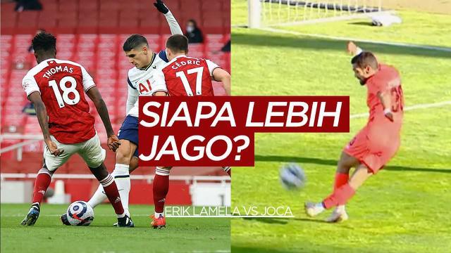Berita video gol rabona pemain Leixoe's, Joca yang saingi gol rabona milik Erik Lamela.