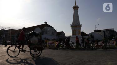 Tugu Pal Putih Yogyakarta Kian Apik Tanpa Gangguan Kabel Melintang