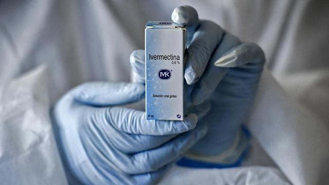 Obat Ivermectin. Foto: AFP