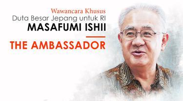 The Ambassador bersama Duta Besar Jepang untuk Indonesia Masafumi Ishii