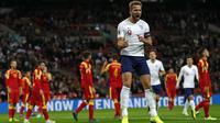 Gol demi gol berhasil dicetak oleh Harry Kane bersama Timnas Inggris. (AFP/Adrian Dennis)