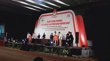 Peserta Pilwalkot Medan 2020