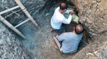 Warga di Blora Temukan Fosil Mamalia Paus Purba dalam Septic Tank