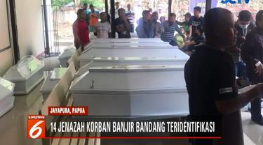 14 jenazah ini diidentifikasi melalui data medis dan fotografi.