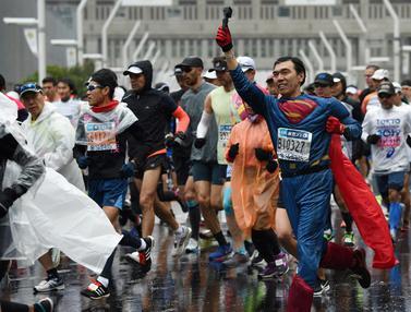Deretan Kostum Lucu Peserta Tokyo Marathon 2019