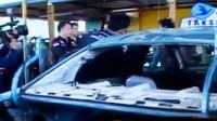 Berdasarkajn hasil sidak polisi, sekitar 20 mobil dilaporkan rusak.