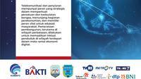 Digitalisasi menunjang kegiatan perekonomian dan berperan vital dalam hal edukasi masyarakat.