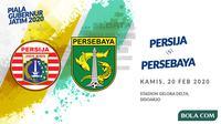 Final Piala Gubernur Jatim 2020: Persija Jakarta vs Persebaya Surabaya. (Bola.com/Dody Iryawan)