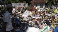 Dinkominfo Purbalingga. Sampah menggunung di TPS. Foto: (Galuh Widura/Liputan6.com)