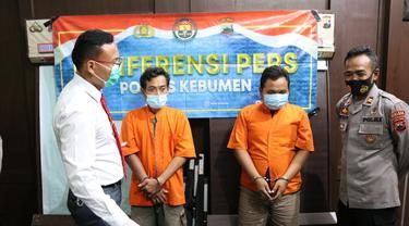 Pedagang telur asin dituntut 20 tahun penjara karena edarkan narkotikan jenis sabu. (Foto: Liputan6.com/Polres Kebumen)