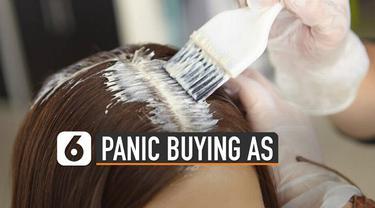 Wabah virus Corona di Dunia membuat masyarakat mengalami panic buying atau membeli barang barang kebutuhan dalam jumlah banyak. Tak terkecuali Amerika Serikat, setelah dulu tisu toilet saat ini pewarna rambut juga menjadi sasaranya.