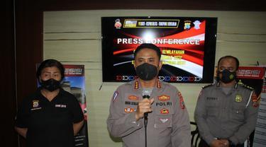 Direktur Lalu Lintas Polda Sulut Kombes Pol Iwan Sonjaya mengungkapkan capaian yang diraih jajarannya dalam operasi tersebut.