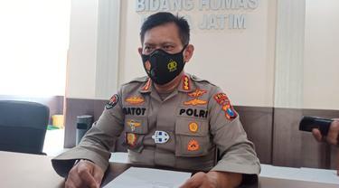 Kabid Humas Polda Jatim Kombes Pol Gatot Repli Handoko (Dian Kurniawan/Liputan6.com)