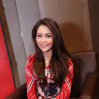 Senyum manis Maia Estianty. (Galih W Satria/bintang.com)