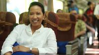 Menteri BUMN Rini Soemarno (Foto: Awan Harinto/Liputan6.com)