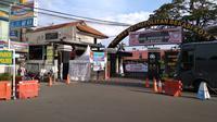 Polres Metro Bekasi Kota. (Liputan6.com/Bam Sinulingga)