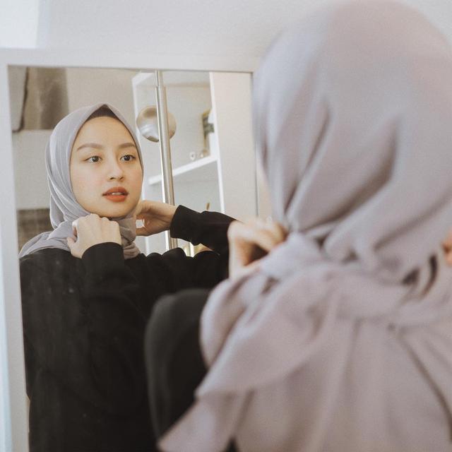 5 Gaya Hijab Simpel Ala Selebgram Ramadan Liputan6 Com
