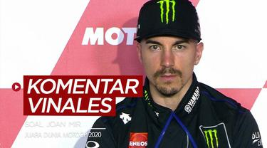 Berita video komentar Maverick Vinales soal Joan Mir, yang berpeluang besar menjadi juara dunia MotoGP 2020 pada seri balapan Valencia.