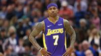 Isaiah Thomas tinggalkan Cleveland Cavaliers untuk LA Lakers pada pertengahan musim NBA 2017-2018. (AFP/Ron Jenkins)