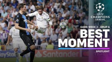 Berita video momen-momen terbaik yang terjadi pada matchday 2 di Grup A Liga Champions 2019-2020.