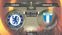 Liga Europa: Chelsea Vs Malmo FF (Bola.com/Adreanus Titus)