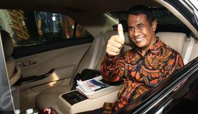 Menteri Pertanian, Andi Amran Sulaiman usai berdiskusi dengan Pimpinan KPK, Jakarta, Jumat (24/2). Pertemuan tersebut membahas tatakelola pangan sebagai sektor strategis yang menjadi salah satu prioritas KPK.(Www.sulawesita.com)