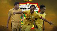 Bhayangkara FC - Evan Dimas, Adam Alis, Hargianto (Bola.com/Adreanus Titus)
