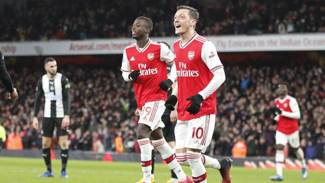 Arsenal Lumat Newcastle United 4-0