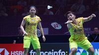 Ganda putri Indonesia, Greysia Polii/Apriyani Rahayu, akan melaju ke babak perempat final Prancis Terbuka 2018, Jumat (26/10/2018) dini hari WIB. (PBSI)