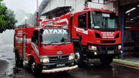 Unit Damkar berbasis Hino Dutro dan Scania. (Otosia.com)