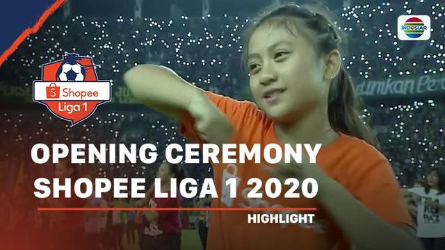 Berita Video TikTok Warnai Opening Ceremony Shopee Liga 1 2020
