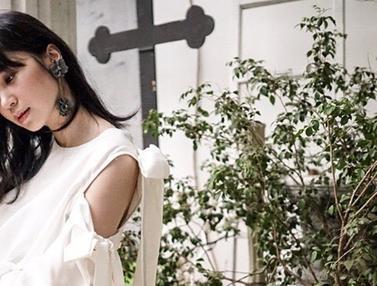 FOTO: Gaya OOTD Laura Basuki Dalam Busana Putih, Tampil Stylish