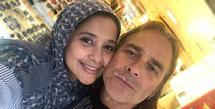 Ayu Azhari dan Mike Tramp (Instagram/ayukhadijahazhari)