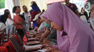 Sosialisasi Sistem Seleksi CPNS 2019/2020, BKN V Jakarta Gelar Simulasi CAT