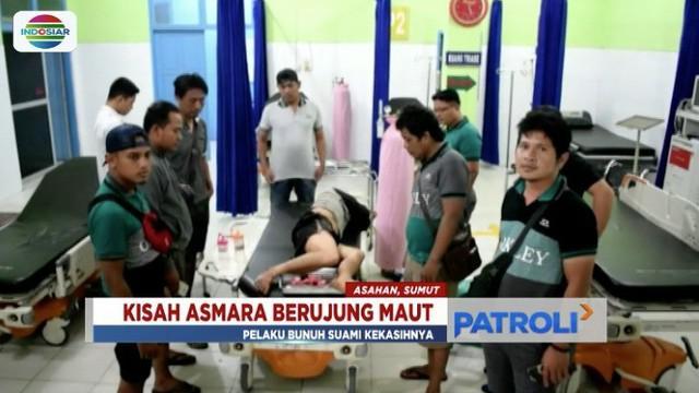Buron selama enam hari, pelaku pembunuhan suami kekasih di Asahan, Sumatra Utara, berhasil dibekuk polisi.