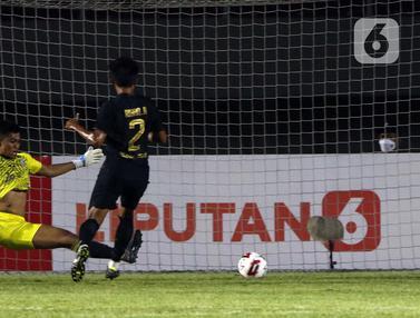 FOTO: Arema FC Terdepak dari Piala Menpora 2021 Usai Ditaklukkan PSIS Semarang